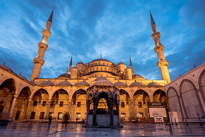 Istanbul, Turkey in Oct 2019